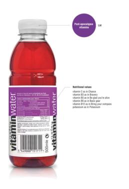 Mornet-Landa - vitamin water - End of the world Bottle 2012