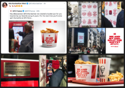 Mornet Landa - KFC bucket bangers - Kardashian